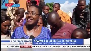 Swali kuhusu Kiambu, Sabina Chege ashangaa kulikoni!