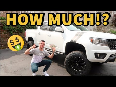 HOW MUCH TO LIFT A CHEVY COLORADO