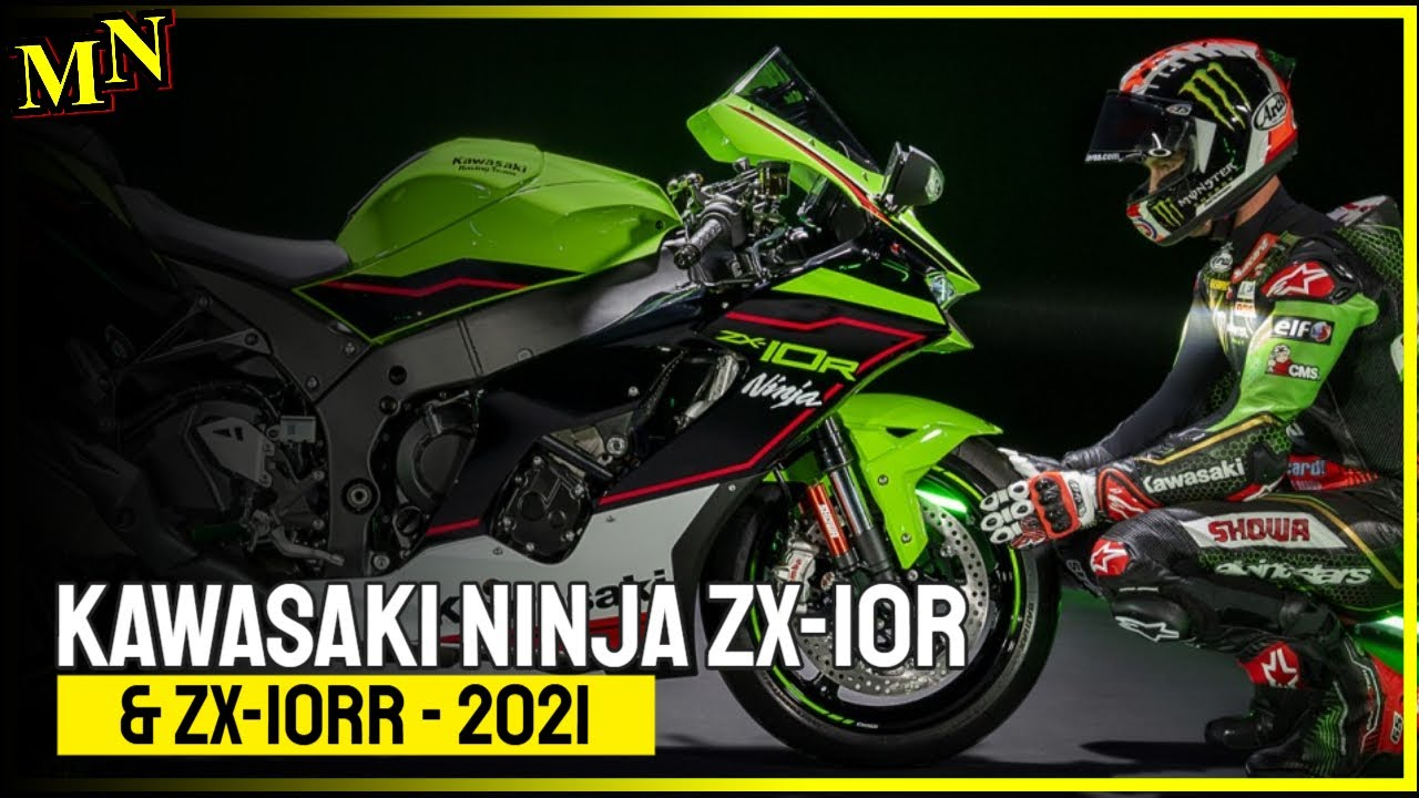 Kawasaki Ninja ZX-10R & ZX-10RR 2021 with modified front and minor updates