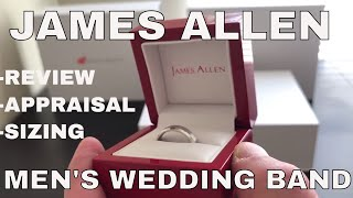 James Allen Mens Wedding Band Review And Unboxing