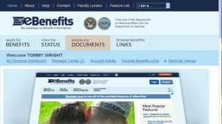 eBenefits Site Tour