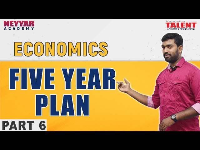 Kerala PSC Economics Five Year Plan (പഞ്ചവത്സര പദ്ധതികൾ) Part 6 - Talent Academy