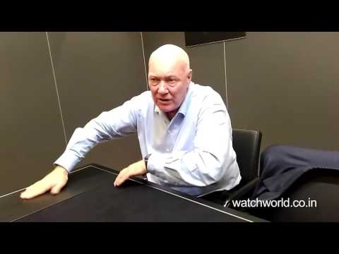 Jean-Claude Biver, CEO of TAG Heuer & Head of Watch Division, LVMH talks about TAG Heuer watches