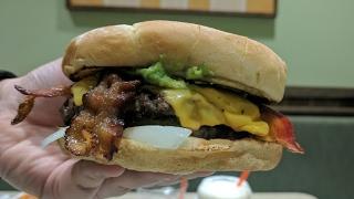Bacon Avocado Burger (The Natural Burger) @ Farmer's Boys Hollywood | The Burger Crawl - Ep. 67