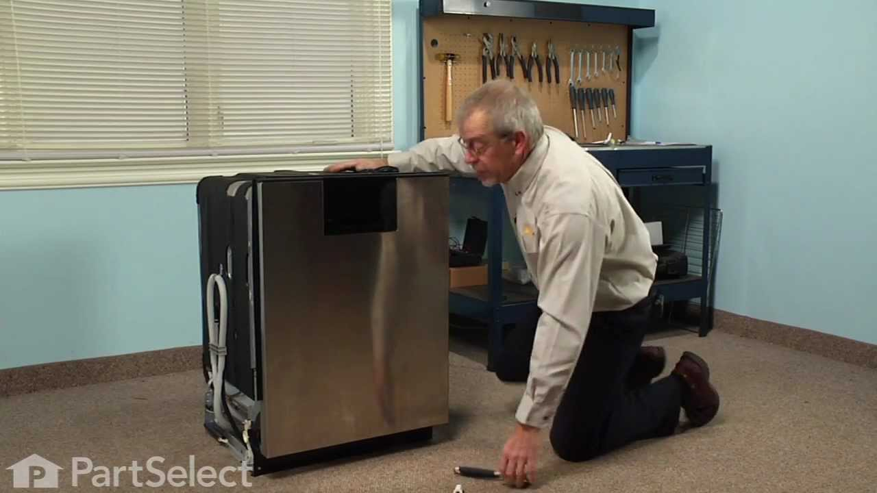 Replacing your Whirlpool Dishwasher Heating Element Nut