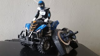 Unboxing rapid racer atv quad rider remote control quad bike kids play testing motorcycle isa rahman