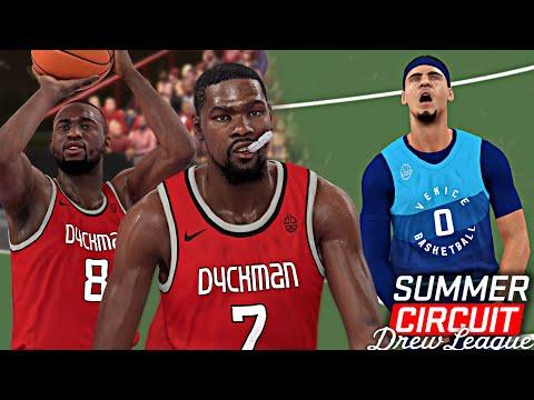 NBA 2K19 Summer Circuit #7 - Kevin Durant & Kemba 40+ Points EACH @ DYCKMAN PARK!!