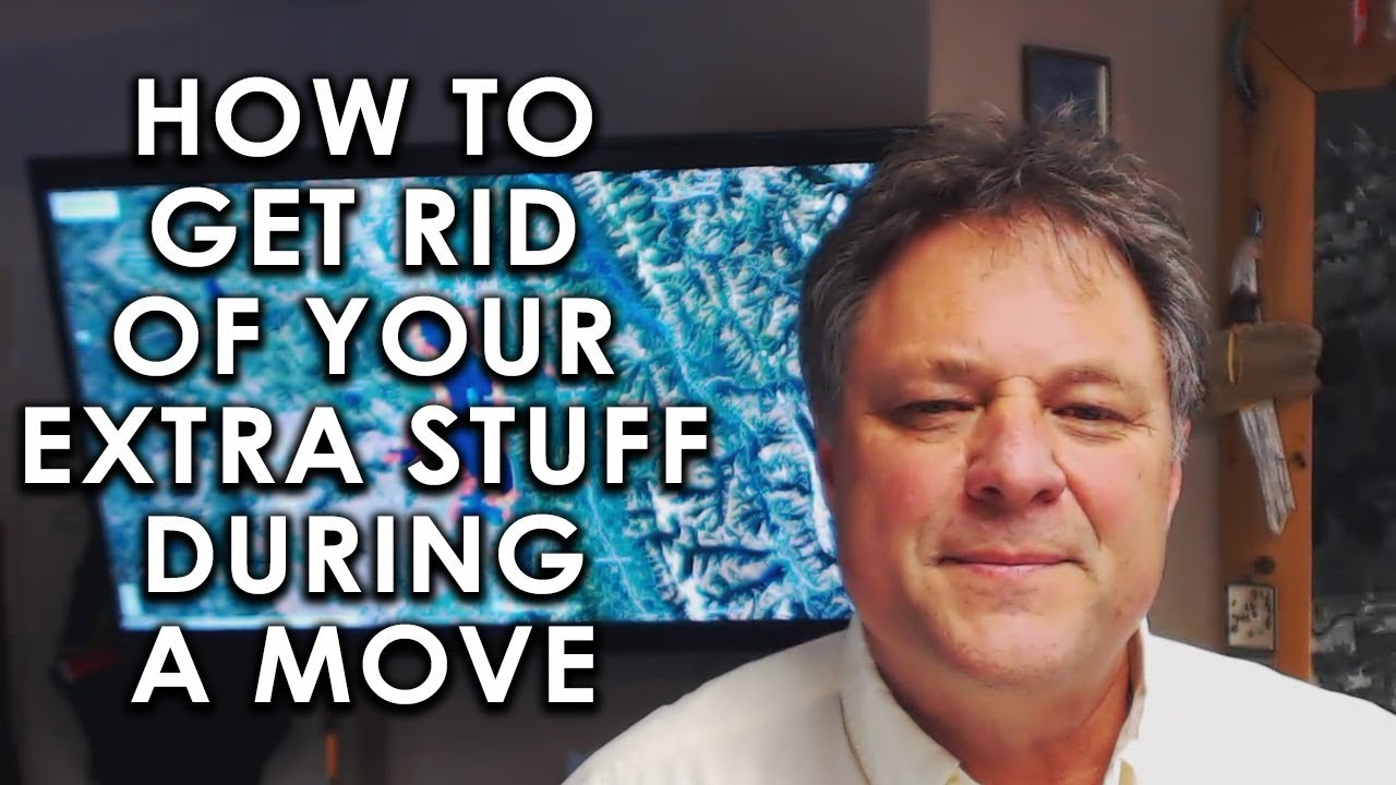 A Few Ways to Get Rid of All Your Clutter During a Move