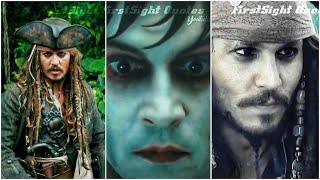 🤩 Johnny Depp ¦ Jack Sparrow | Mashup Whatsapp Status | FirstSight Quotes |