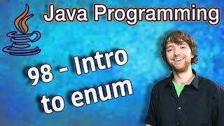 Java Programming Tutorial 98 - Intro to enum
