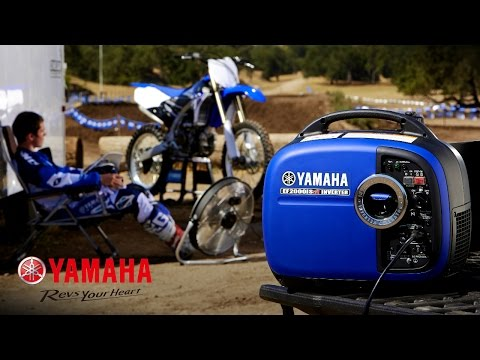 Yamaha EF2000iSV2 Generator in Mineola, New York - Video 1