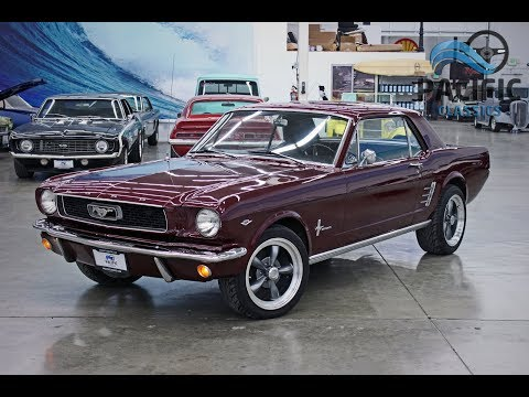 1966 Ford Mustang : 1966 Ford Mustang Coupe 289ci V8 / C4 auto / New Paint