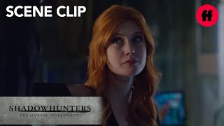 Shadowhunters | Season 1, Episode 13: Simon and Clary Talk About Jace | Freeform