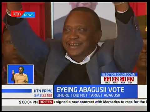 Delegation of Gusii leaders paid President Uhuru Kenyatta a visit at State House Nakuru