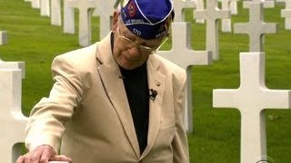 D-Day veteran returns to Normandy for final mission