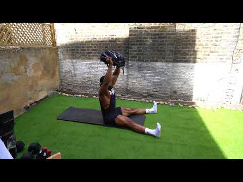 Backpack Overhead Sit-up