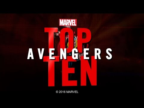 Marvel Top 10 Avengers | MTW