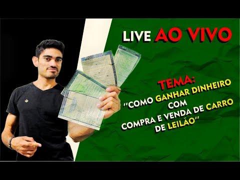 LIVE DE COMO GANHAR DINHEIRO COM LEILÃO DE CARROS