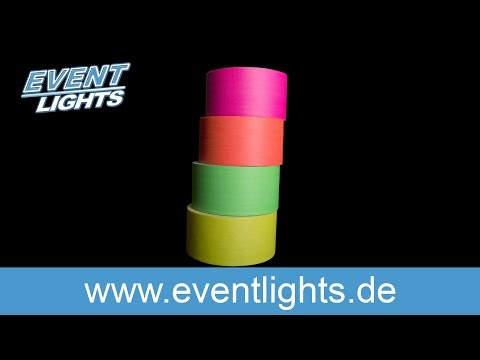 UV/Neon Tape - 4 Farben Set
