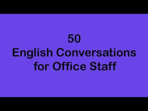 mp4 Learning English Office Conversation, download Learning English Office Conversation video klip Learning English Office Conversation