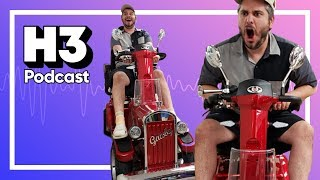 Our $3500 Scooter Has Arrived & Pizza Taste Test Catastrophe - H3 Podcast #142