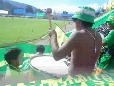"""AMENAZA ( SA ) VERDE"" Barra: Amenaza Verde • Club: Sport Áncash"
