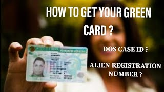 HOW TO ORDER YOUR GREEN CARD