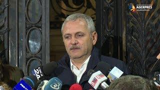 Dragnea: Dăncilă m-a asigurat că în prima ședință de Guvern va adopta amânarea declarației 600