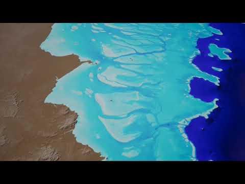 Así son los primeros mapas del lecho marino de la Gran Barrera de coral