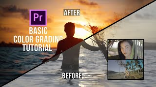 How I COLOR GRADE in Adobe Premiere Pro | Basic Editing Tutorial!