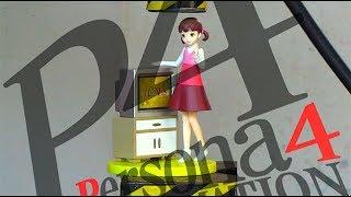 ペルソナ4:堂島菜々子フィギュアVS油圧プレス機/Persona4:NanakoDojimaPVCfigureswithHydraulicpressmachine.