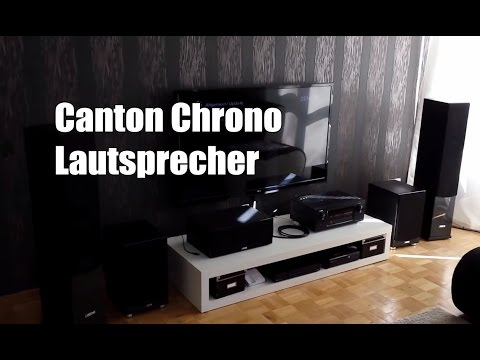 Canton Chrono Lautsprecher Set im Test / Review (Deutsch)