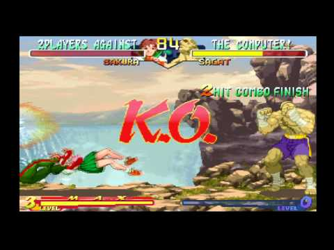 Street Fighter Alpha Anthology Playstation 2