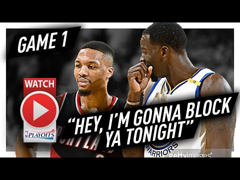 Draymond Green CRAZY Game 1 Highlights vs Trail Blazers 2017 Playoffs - 19 Pts, 12 Reb, 9 Ast, 5 Blk
