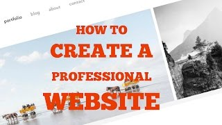 how to create a professional website | Adding headers to your website | html and css tutorials
