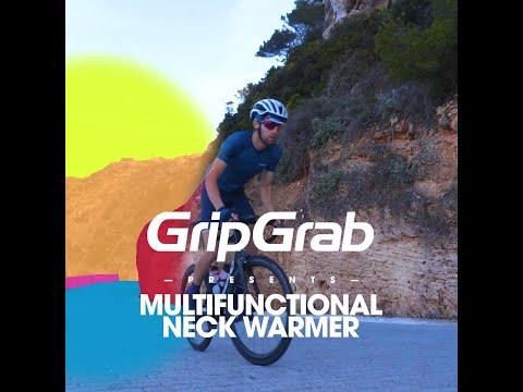 GripGrab Cycling//Bike Headwear Black Multifunctional Neck Warmer