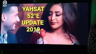 YAHSAT 52°E UPDATE 2019, dd free dish
