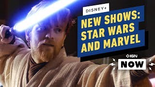 ALL New Star Wars, Marvel Shows Revealed at D23 - IGN Now