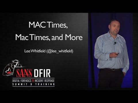 MAC Times, Mac Times, and More - SANS Digital Forensics ...