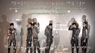 2PM- I Can't (english/romanized)