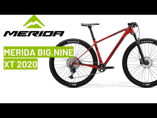 Видео Велосипед Merida Big Nine XT 29 matt dark grey