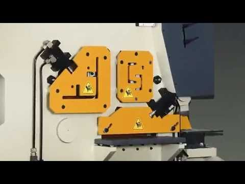 Multipurpose Hydraulic Ironworker Machine