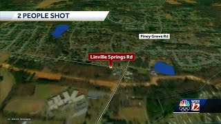Two people rushed to hospital after shooting in Kernersville