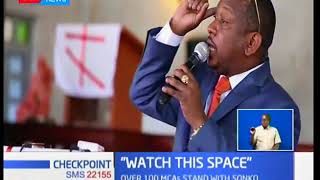 Governor Sonko slams Matiang'i, Kibicho, Boinett, insists naysayers & cartels will not detract him