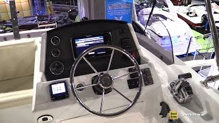 2015 Beneteau Swift Trawler 34 Fly - Walkaround - 2015 Montreal Boat Show