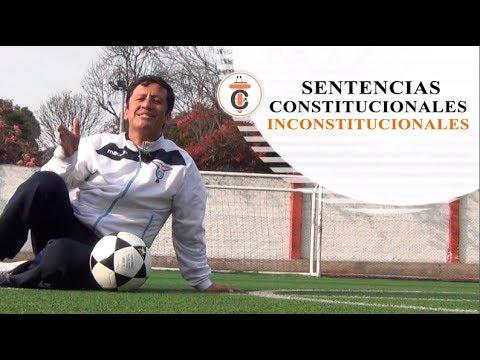 SENTENCIAS CONSTITUCIONALES INCONSTITUCIONALES - Tribuna Constitucional 108 - Guido Aguila