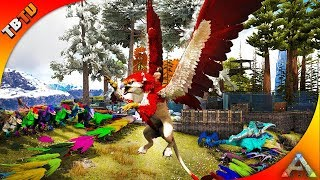 the best griffin mutations ever painting competiton ark survival mutation zoo