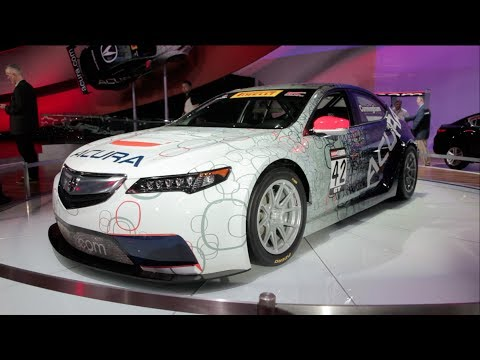 Acura TLX GT Race Car - 2014 Detroit Auto Show