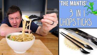The 'Mantis' 3 in 1 Chopsticks | Kitchen Gadget Test