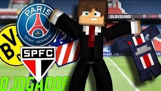 Minecraft: O JOGADOR (The Journey) - COM QUAL CLUBE EU DEVO ASSINAR ?!? #01